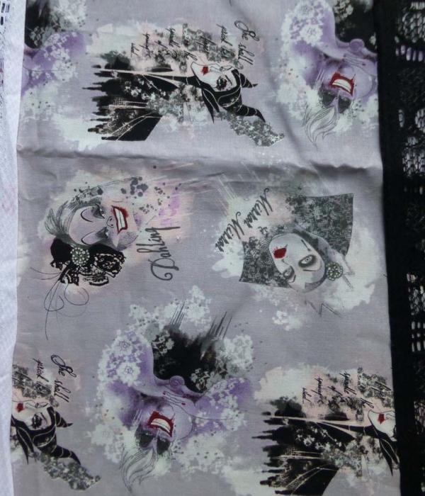 Disney Evil Queens fabric