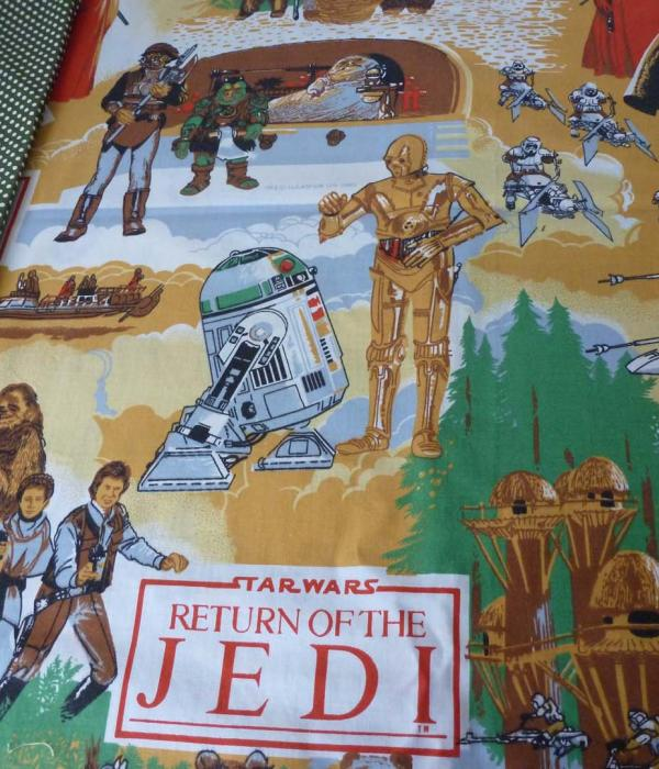 Star Wars Return of the Jedi fabric